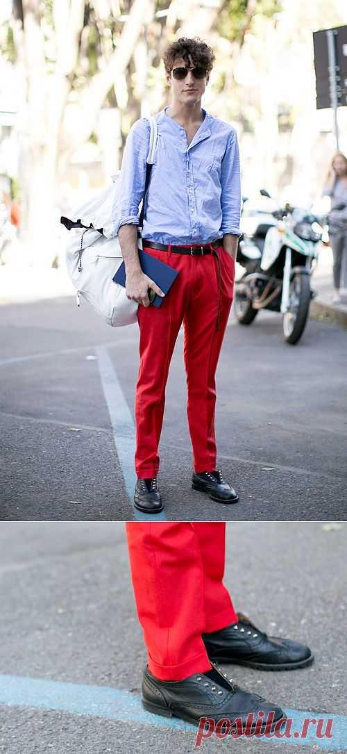 Шипы в ботинках / Мужская мода / Модный сайт о стильной переделке одежды и интерьера