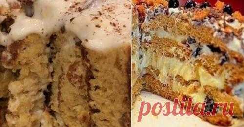 Пожалуй, это лучший торт на кефире! Этот торт с немного юмористическим названием