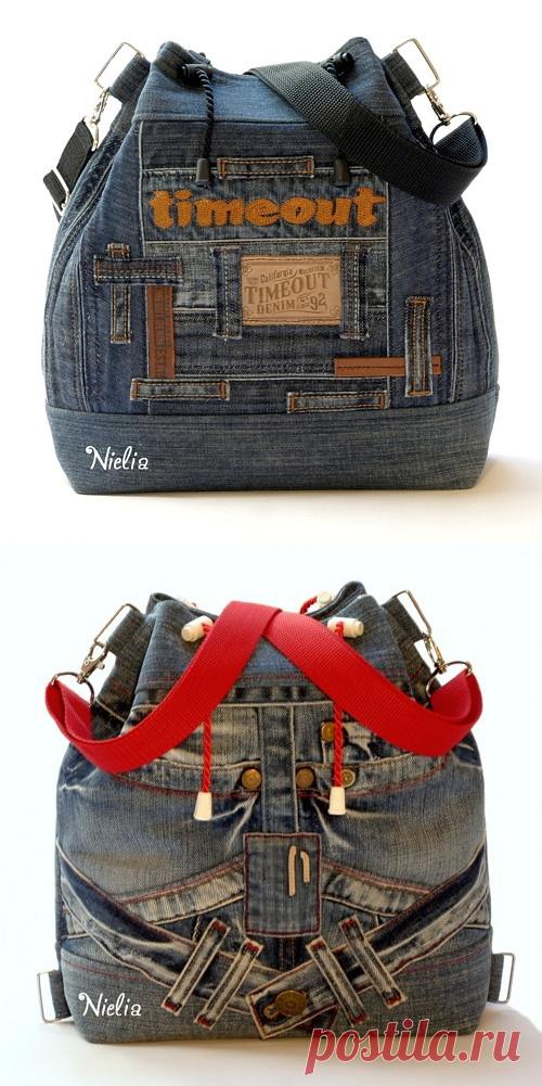 c2e49e60135c Nielia - сумки из джинсов (часть1) | мода ПЕРЕДЕЛКИ ДЖИНСА | Постила