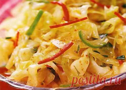 Капуста по-корейски. Рецепты капусы по-корейски. Как правильно готовить капусту по-корейски - полезные советы. Секреты и рецепты приготовления капусты по-корейски от опытных кулинаров.