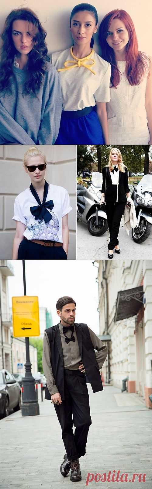 Бантики в моде (подборка) / Тенденции / Модный сайт о стильной переделке одежды и интерьера