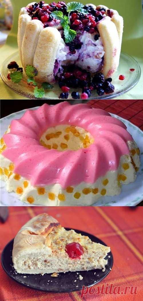 Десертные блюда из творога (для получения рецепта нажмите на картинку)
