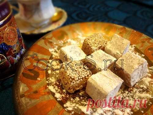 Рахат-лукум - Пошаговый рецепт с фото   Десерты