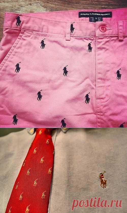 Вышивка на мужских брюках и галстуке / Вышивка / Модный сайт о стильной переделке одежды и интерьера