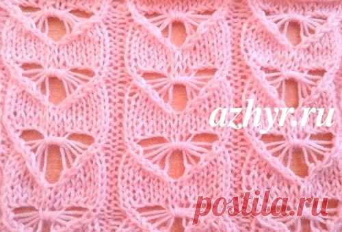 Ажур схемы для вязания спицами