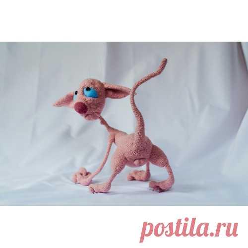 Лысый кот и другие невероятности от Галины Асташовой. из категории Интересные идеи – Вязаные идеи, идеи для вязания