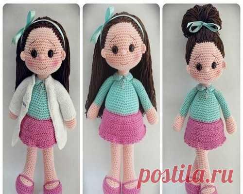 Как связать куклу своими руками фото 6