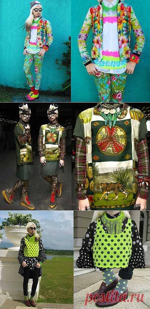 Упорядоченный хаос (трафик) / Лукбуки / Модный сайт о стильной переделке одежды и интерьера