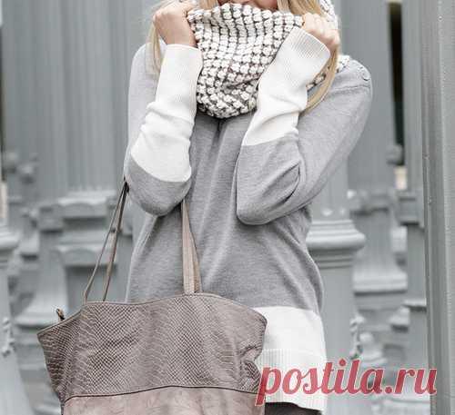Свитер / Изменение размера / Модный сайт о стильной переделке одежды и интерьера