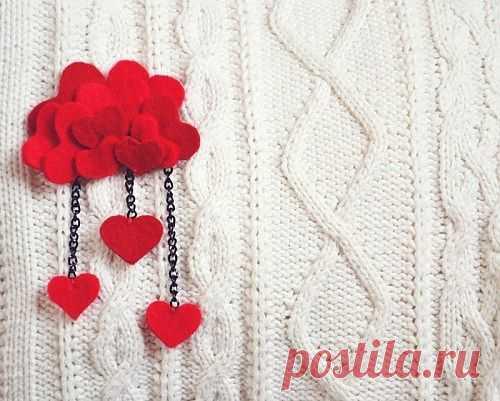 Брошь для шарфа или свитера / Украшения и бижутерия / Модный сайт о стильной переделке одежды и интерьера
