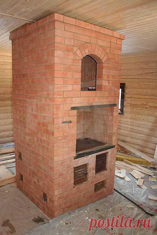 Духовка в кирпичную печь, особенности установки духовки для кирпичной печи