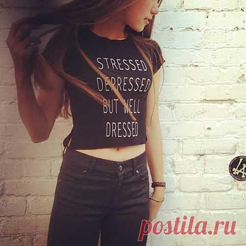 Надпись на футболке / Рисунки и надписи / Модный сайт о стильной переделке одежды и интерьера