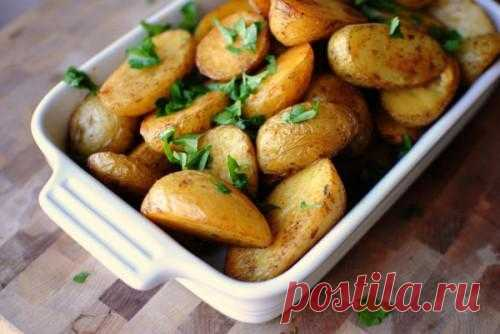 Блюда из молодого картофеля / Простые рецепты