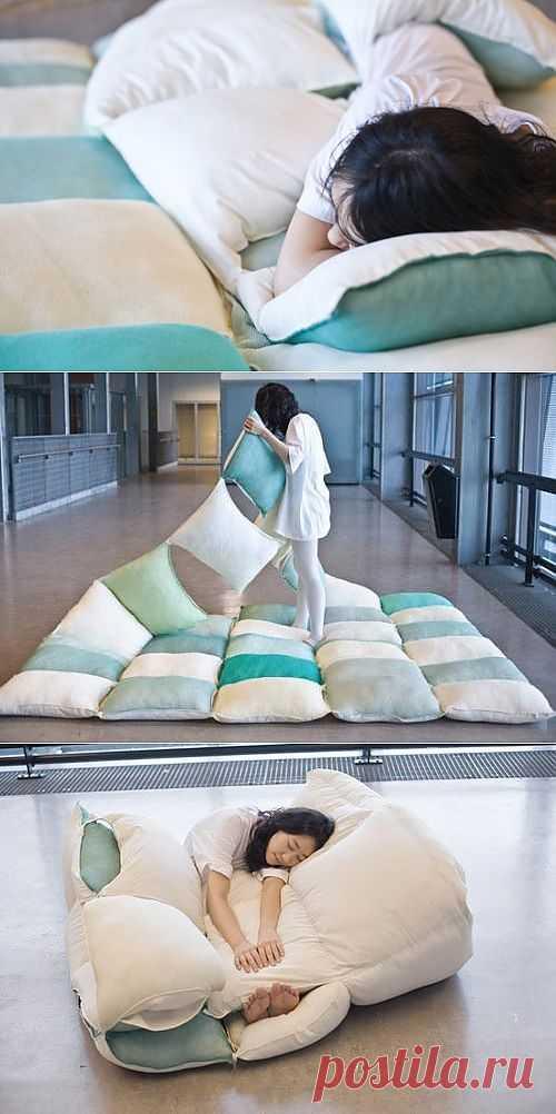 Матрас, подушка, одеяло / Подушки / Модный сайт о стильной переделке одежды и интерьера