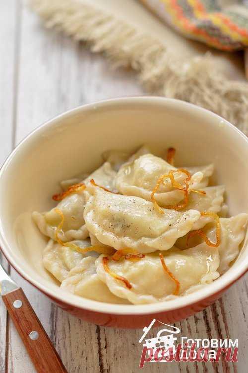 Вареники с картофелем (постные) - пошаговый рецепт с фото на Готовим дома