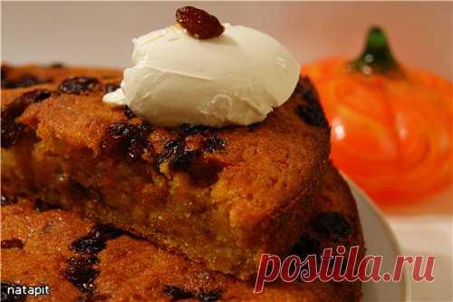 Damp pumpkin and orange cake the recipe with photos