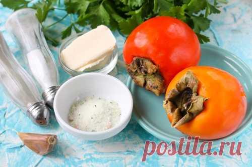 Рецепт соуса из хурмы к мясу | Меню недели