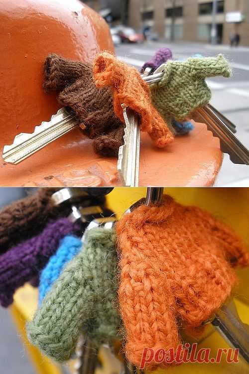 Одеваем ключи / Вязание / Модный сайт о стильной переделке одежды и интерьера