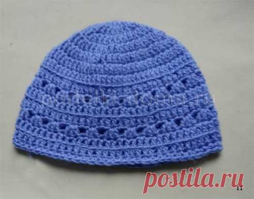 Женская шапка, вязаная крючком - Коробочка идей и мастер-классов Холодное лето и ранняя осень