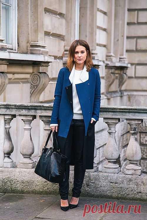Суперское пальто / Street Style / Модный сайт о стильной переделке одежды и интерьера