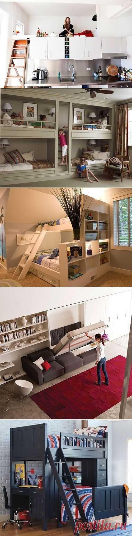 Невидимая кровать (подборка) / Спальня / Модный сайт о стильной переделке одежды и интерьера