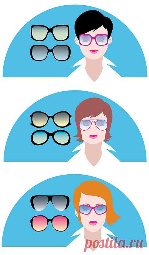 Как подобрать солнцезащитные очки по типу лица | Лайфхакер
