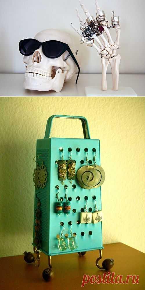 Креативное хранение / Организованное хранение / Модный сайт о стильной переделке одежды и интерьера