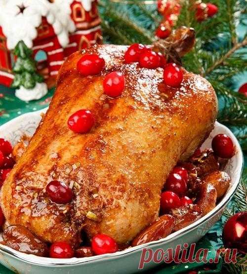 Блюда из птицы к новогоднему столу: рецепты