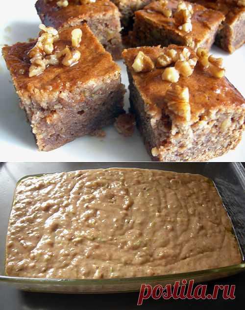 Представляемый сегодня рецепт кабачкового пирога, конечно, довольно калорийный, но зато наверняка понравится любителям восточных сладостей. Подробнее: http://www.foodclub.ru/detail/2129/