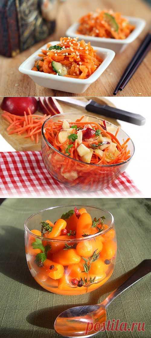 Морковь: 8 блюд от основных до десертных / Простые рецепты
