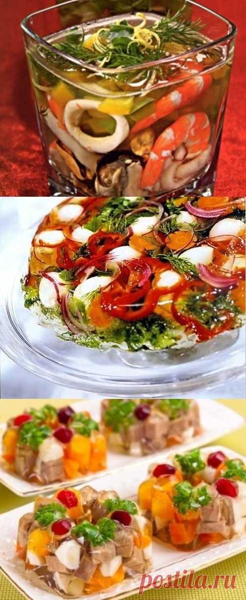 De aspic - el clasicismo de fiesta culinario