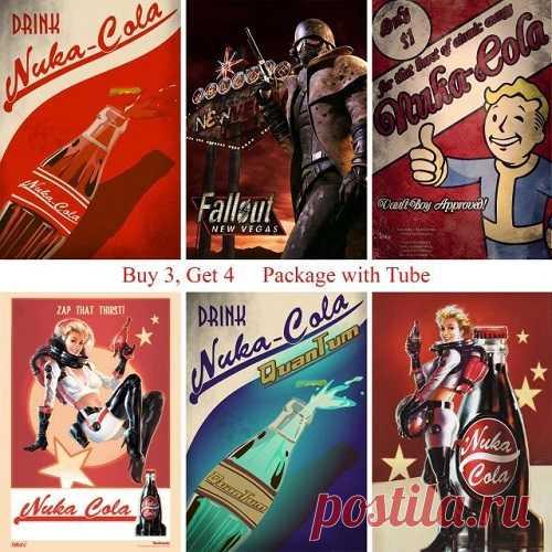Fallout плакаты