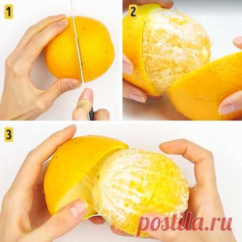 Быстрые и лёгкие способы почистить фрукты и ягоды