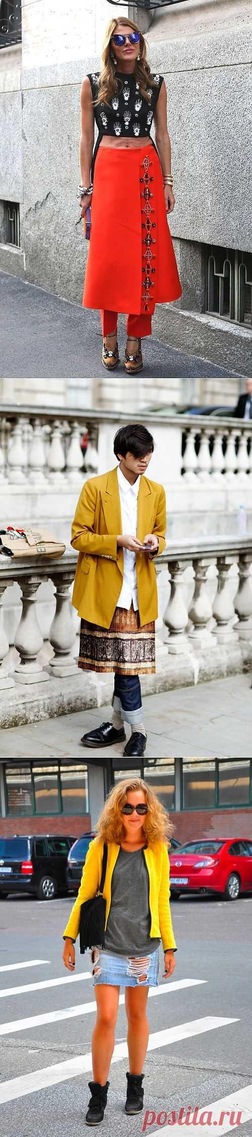 """Юбки с """"улицы"""" (подборка) / Street Style / Модный сайт о стильной переделке одежды и интерьера"""