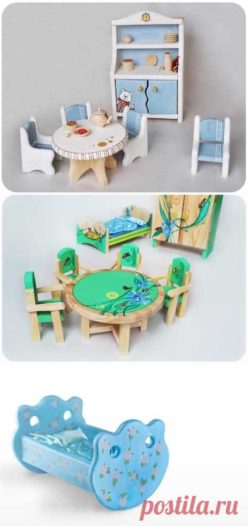 Ванильная мебель.