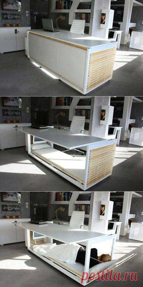 Рабочее место + кровать