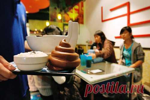 10 Необычных и креативных ресторанов.