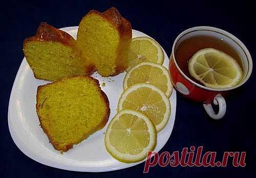 Лимонный кекс - рецепт с фото и отзывами / Меню недели