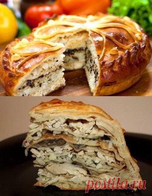 Курник – традиционный русский пирог