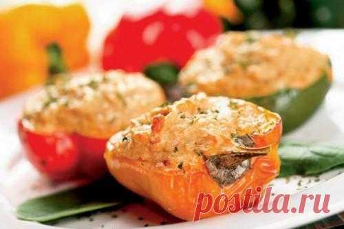 Фаршированный перец – легко и вкусно! / Простые рецепты