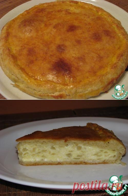 Сырный пирог с луком – кулинарный рецепт