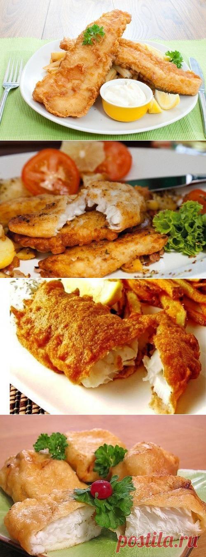 6 рецептов кляра для рыбы