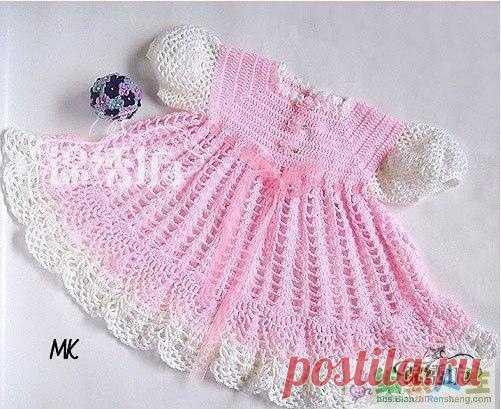 МК подробный для вязания платьев с кокеткой реглан
