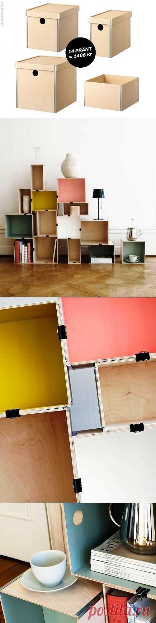 Шкаф своими руками за 5 минут / Мебель / Модный сайт о стильной переделке одежды и интерьера