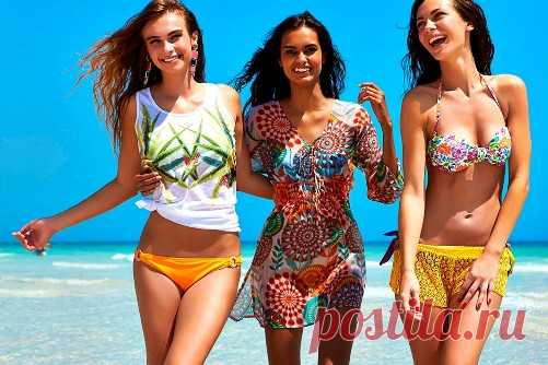 Пляжная мода 2018 - основные тенденции и направления
