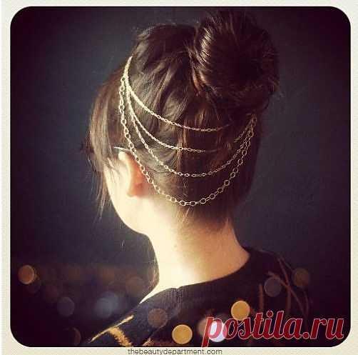Цепочки в волосах 2 / Украшения для волос / Модный сайт о стильной переделке одежды и интерьера