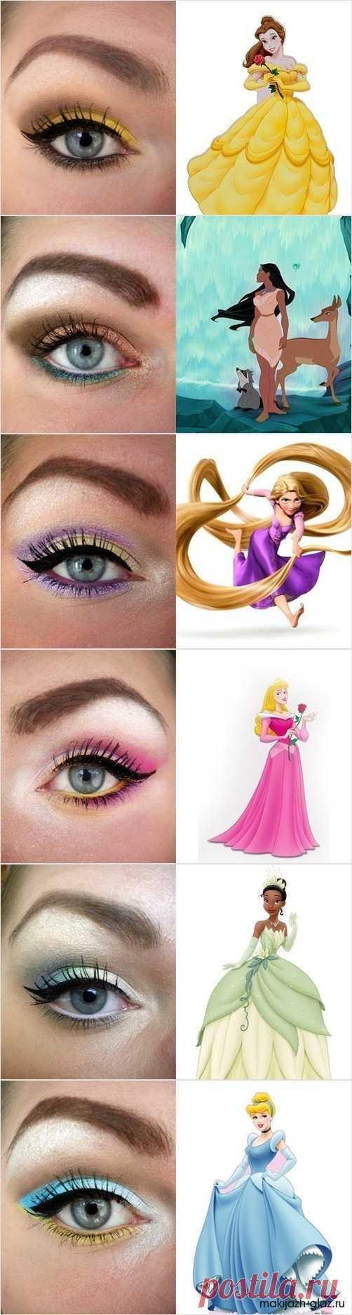 Сказочный макияж в стиле диснеевск