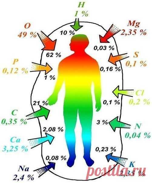 Los microelementos para la vida normal