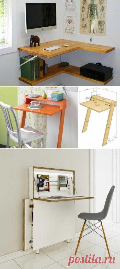 Мало места? Попробуйте один из этих миниатюрных рабочих столов | Лайфхакер