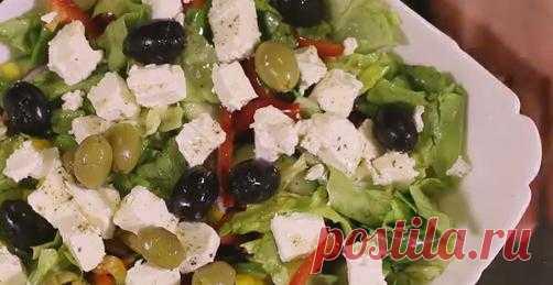 Греческий салат : вкусные и простые классические рецепты Греческого салата